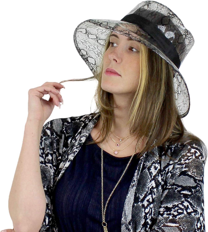 Clear PVC Bucket Hat Vinyl Rain Hat Designer Style