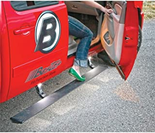 Bestop 75123-15 PowerBoard Electric Retractable Running Board Set for 2007-2017 Chevy Silverado/GMC Sierra 1500/2500/3500 Extended Cab (Except 2011-2017 Diesel Engine Models)