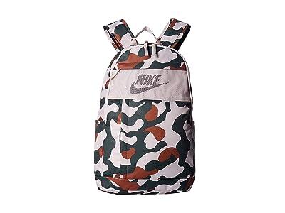 Nike Elemental All Over Print 2 Backpack 2.0 (Desert Sand/Desert Sand/White) Backpack Bags