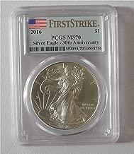 2016 Silver American Eagle Silver $1 MS-70 PCGS