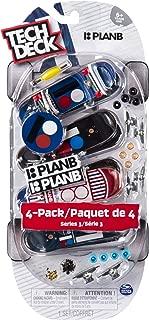 TECH DECK - 96mm Fingerboards - 4-Pack - Plan B