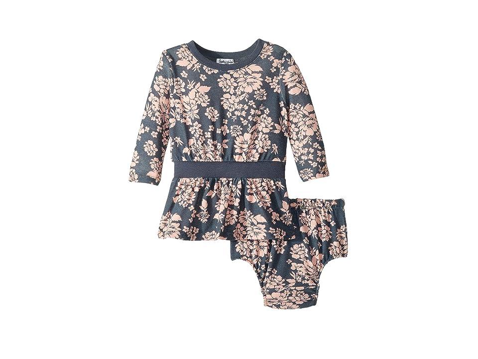 Splendid Littles Floral Dress (Infant) (Ombre Blue) Girl