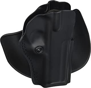 Safariland 5198 Paddle and Belt Loop Holster with Detent STI 2011 with Full Dust Cover Polymer Black