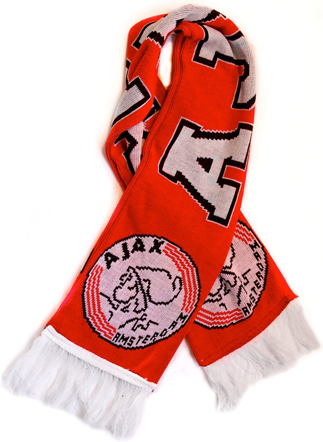 Ajax Fan Scarf Premium Acrylic Knit Outstanding Now free shipping