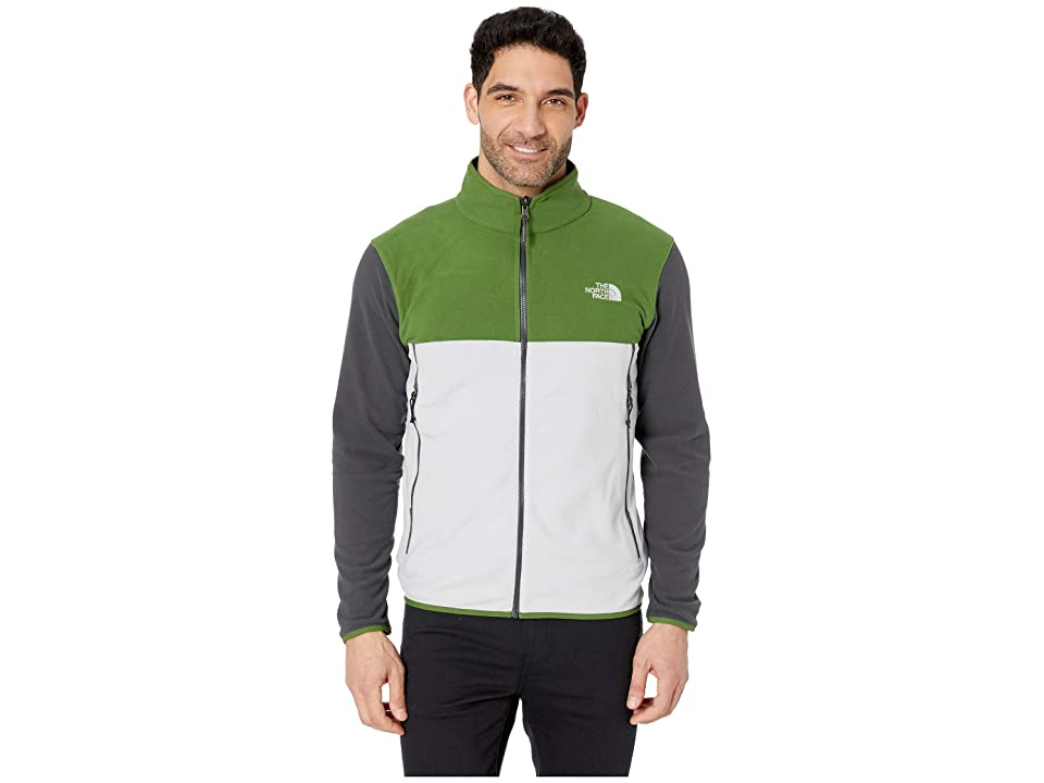 78ee15f6a761 The North Face Glacier Alpine Jacket (High-Rise Grey TNF Black Asphalt Grey  2) Men s Coat