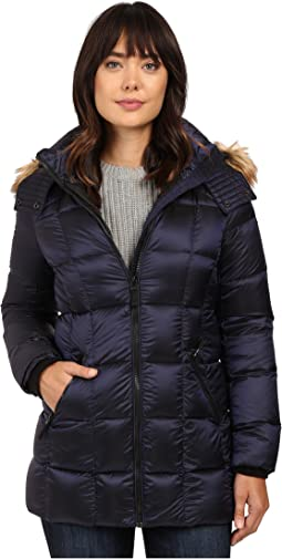 "Maddy 30"" Metallic Down Jacket"