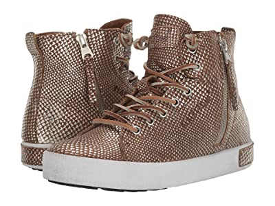 Blackstone High Top Zip Boot KL62 (Luggage) Women