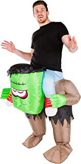 Adult Inflatable Frankenstein Fancy Dress Costume