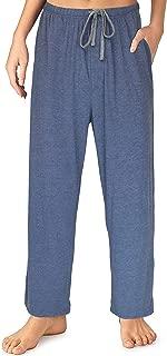 Sleepwear Womens Jersey Knit Pajama Pants, Long Pj Bottoms