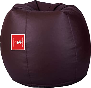 Comfy Bean Bags Bean Bag - Size Xxxl - Without Fillers - Cover Only (Brown)
