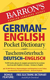 German-English Pocket Dictionary: 70,000 words, phrases & examples
