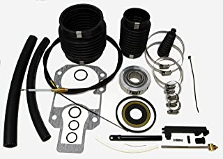 SEI Marine Products- Compatible with Mercruiser Alpha I Gen I Bellows Kit with Shift Cable and Oil Seal