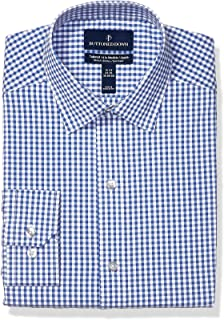 Buttoned Down mens Tailored-fit Tech Stretch Coolmax Quick Dry Dress Shirt