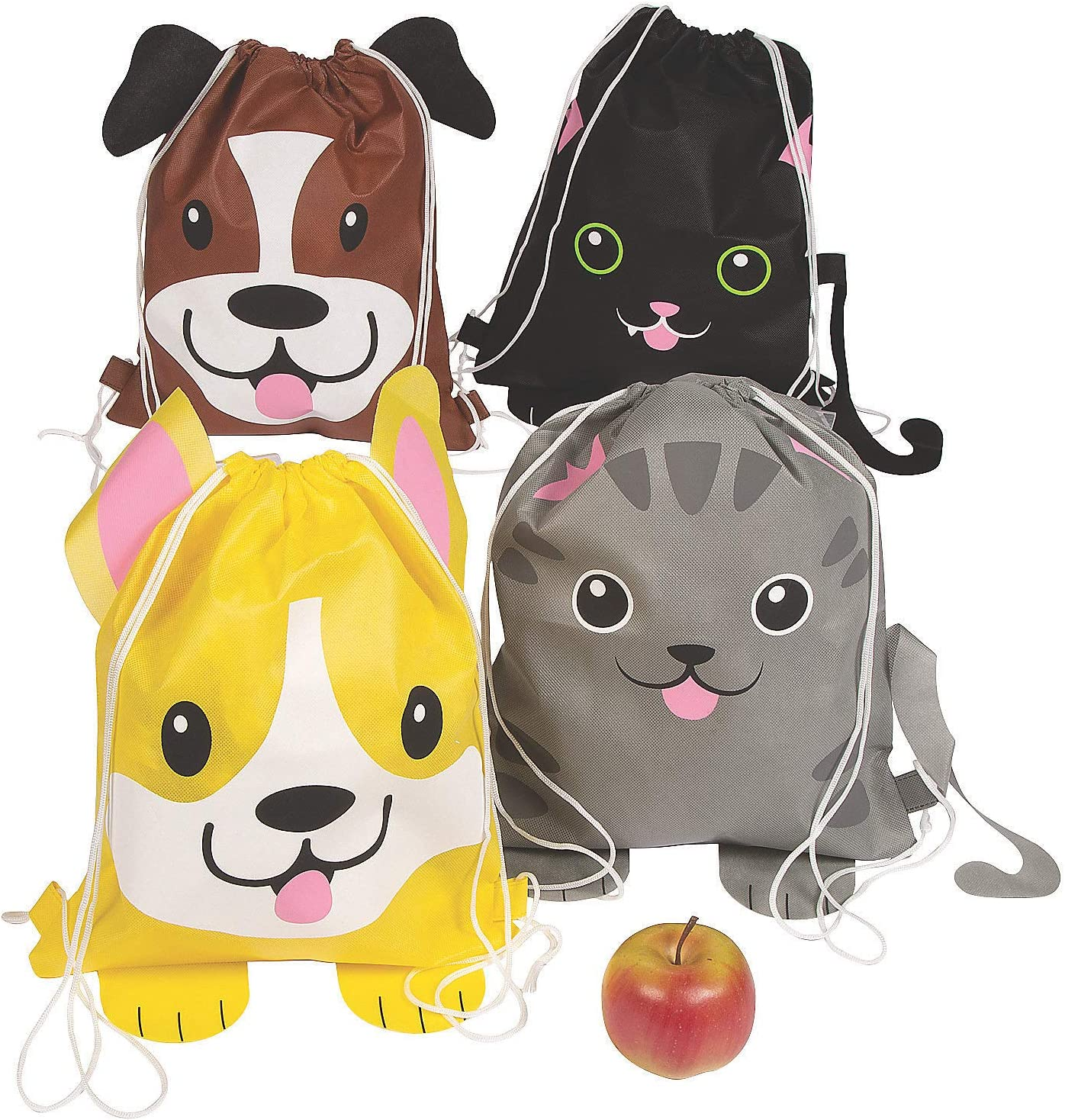 Max 67% OFF Fun Express CAT Raleigh Mall and Dog Accessories Drawstring Bags Apparel -