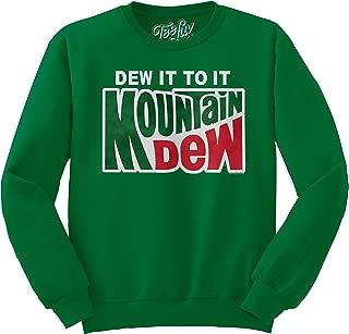 Tee Luv Mountain Dew Crewneck Sweatshirt