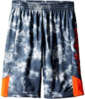 adidas Kids - Smokescreen Shorts (Toddler/Little Kids)