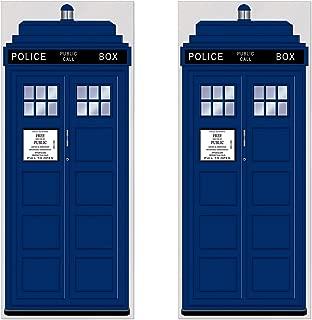 Beistle 52171 2 Piece Police Call Box Door Covers, 30
