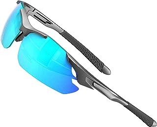 ATTCL - Gafas de sol para hombre - Gafas de sol polarizadas deportivas mejoradas para mujer, ciclismo, conducción, pesca, protección UV