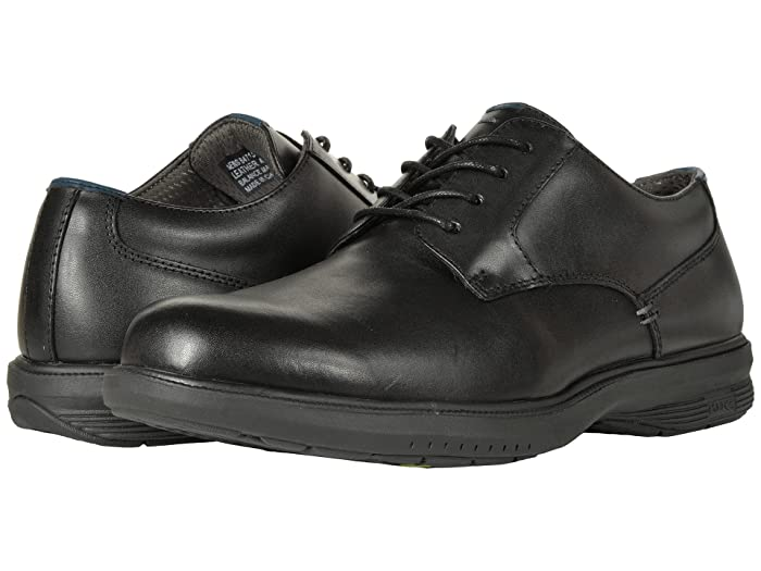 d7ac0b403 Nunn Bush Marvin Street Plain Toe Oxford with KORE Slip Resistant Walking  Comfort Technology