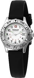 Swiss Military Hanowa Women's 06-6053-04-001R Jungfrau White Dial Leather Strap Watch