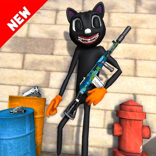 Scary Cartoon Cat Open World Crime Hero Game 3D