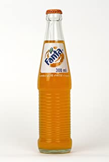 Fanta Orange Mexican Soda, 12 Ounce (12 Glass Bottles)