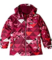 Jacket with Windproof Finish and Detachable Hood (Toddler/Little Kids/Big Kids)