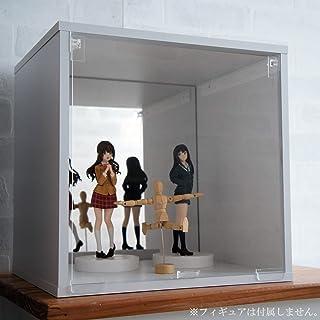 コレクションケース 背面ミラー付き (ホワイト)