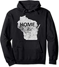 wisconsin home sweatshirt