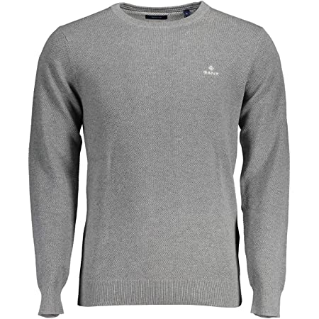 GANT Men's Cotton Pique C-Neck Sweater
