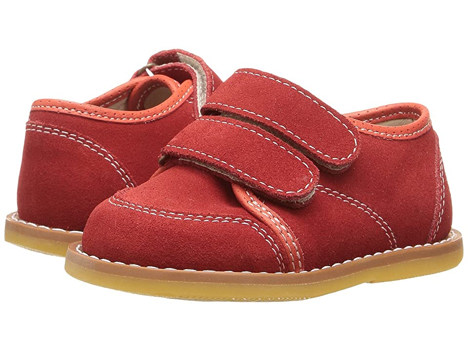 52ab964f9c9 Elephantito Low Top Sneaker (Toddler) (Red) Boy s Shoes