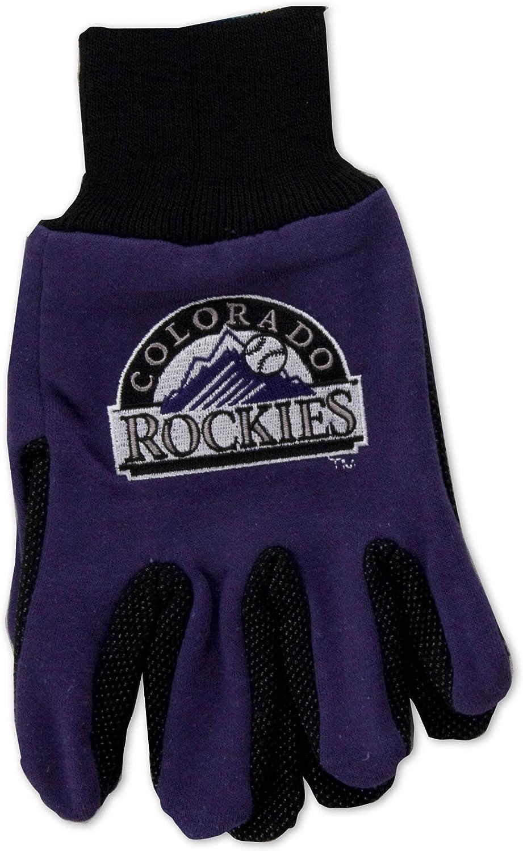 MLB Colorado Rockies Two-Tone Gloves