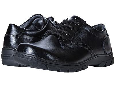 Florsheim Kids Getaway Plain Ox, Jr. II (Toddler/Little Kid/Big Kid) (Black) Boys Shoes