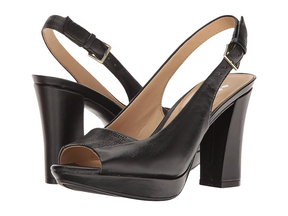 Naturalizer Allegra (Black Leather) Women