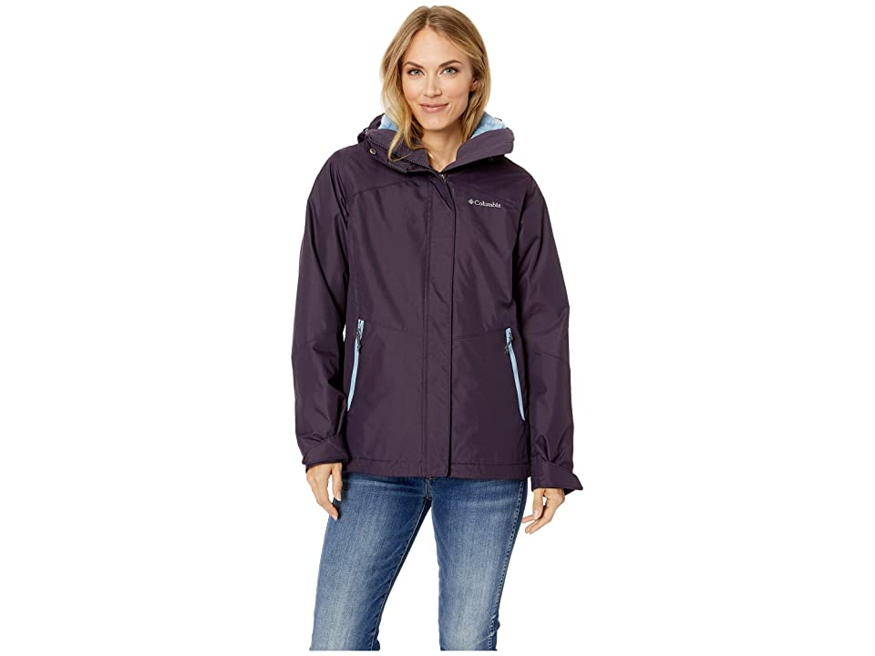 Columbia Bugabootm II Fleece Interchange Jacket (Dark Plum/Dark Mirage) Women