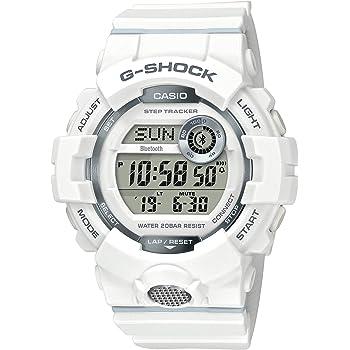 [カシオ] 腕時計 ジーショック 歩数計測 Bluetooth 搭載 GBD-800-7JF メンズ ホワイト