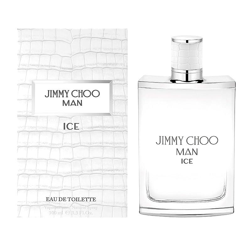 危険にさらされている本憂慮すべきJimmy Choo Man Ice (ジミー チュー マン) 3.3 oz (100ml) EDT Spray for Men