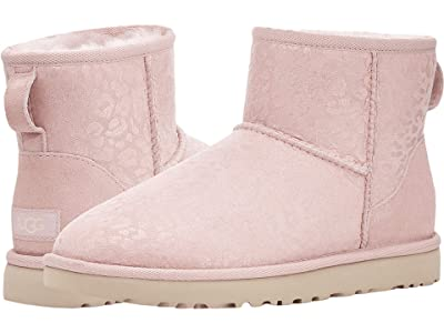 UGG Classic Mini Snow Leopard (Quartz) Women
