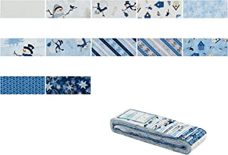 Wilmington Prints Wilmington Welcome Winter Crystals 2.5'' 24 Pcs Multi