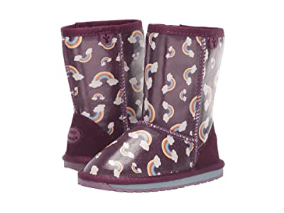 EMU Australia Kids Rainbow (Toddler/Little Kid/Big Kid) (Plum) Girls Shoes