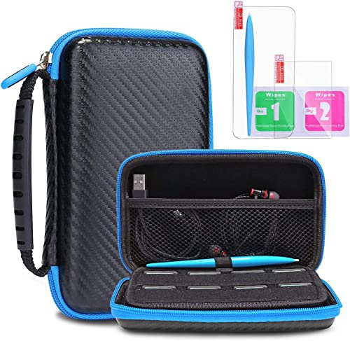 Protective Carrying Case for New Nintendo 2DS XL LL KINGTOP Hard Shell Travel Bag for New Nintendo 2DS XL/LL New Nint...
