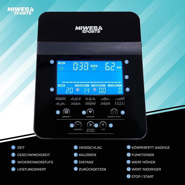 Miweba Sports Crosstrainer MC400 - Trainingscomputer