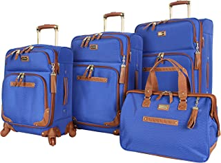 steve madden 4 piece spinner luggage collection