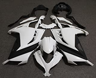 ZXMOTO K0313-UNP - Fairing Kit for Kawasaki NINJA 300 EX300 EX300A EX300B 2013-2017 2014 2015 2016 - Unpainted - (Pieces/kit: 17)