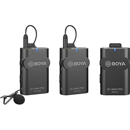 Walimex Pro Boya Wm4 Pro K 2 Mikrofon 3er Set Kamera