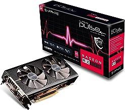 Sapphire 11289-06-20G Radeon PULSE RX 590 8GB GDDR5 Dual HDMI/ DVI-D/ Dual DP with Backplate (UEFI) PCI-E Graphic Cards