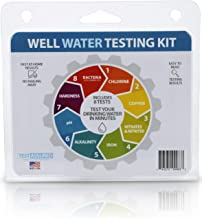 Well Water Testing Kit – Tests For Bacteria & 7 Other Tests In One Easy Testing..