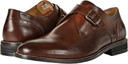 Nunn Bush - Sabre Plain Toe Monk Strap
