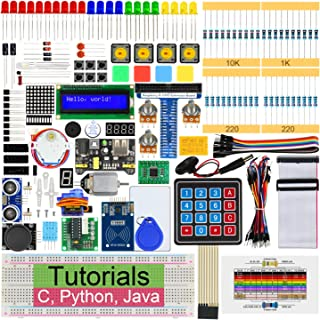 Freenove RFID Starter Kit for Raspberry Pi 4 B 3 B+ 400, 423-Page Detailed Tutorials, Python C Java Code, 204 Items, 53 Pr...
