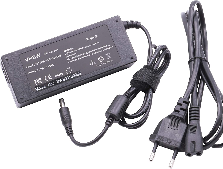 vhbw Cargador portátil 220V (4.22A) para Fujitsu-Siemens Lifebook A1010, A1130, A531, AH530, AH531, AH532, AH550, C1020 reemplaza CA01007-0920.